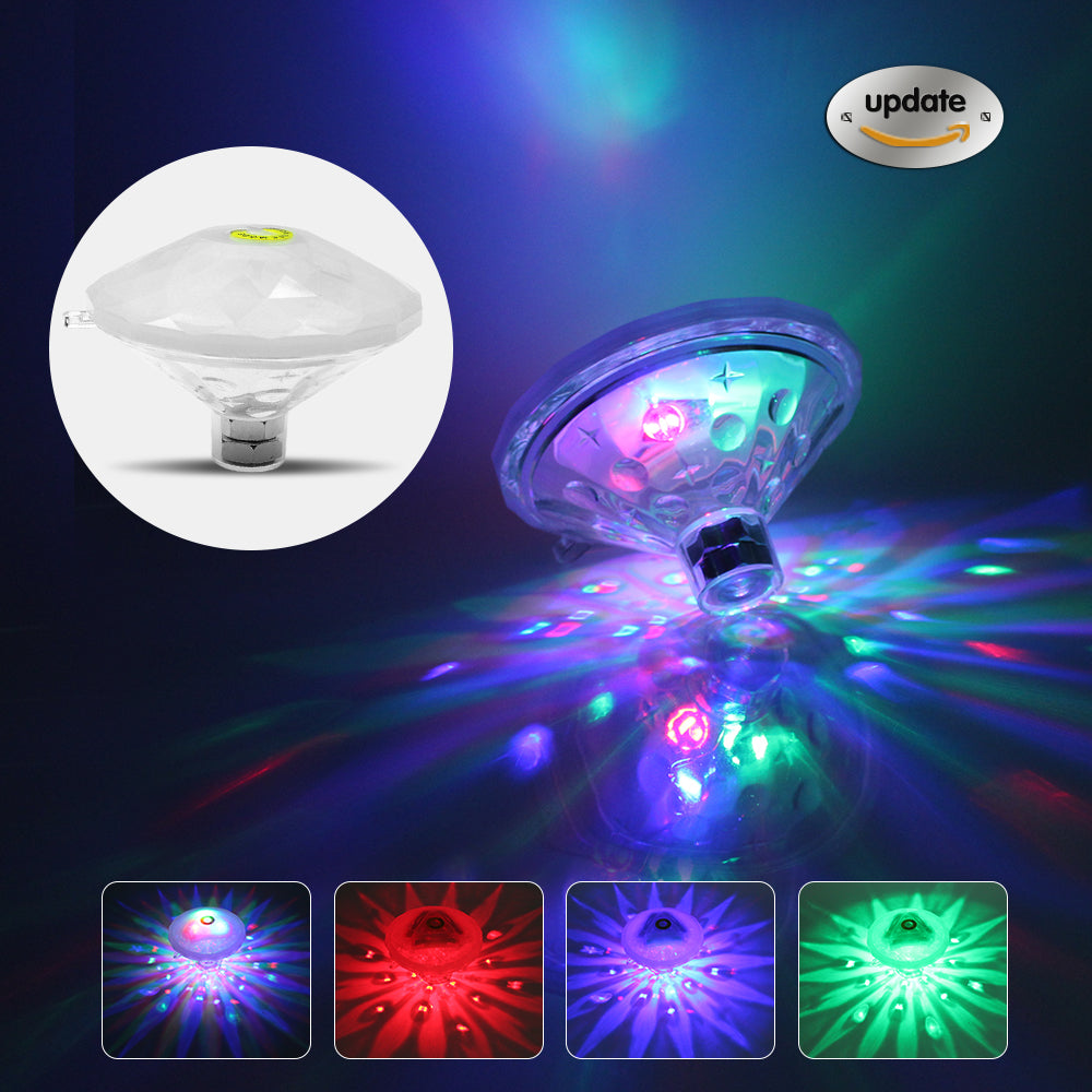 Waterproof LED Swimming Pool Light Underwater Light for Kids Children tub  Toy baby floating lamp / Spa Lamp / disco Party
