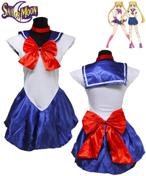 Costbuys  Women's Anime Sexy Sailor Moon Costume Cosplay dress For Girl Halloween Game Stage Bar Costume Cosplay - No 1 / XL