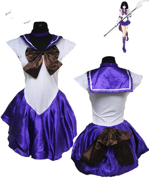Costbuys  Women's Anime Sexy Sailor Moon Costume Cosplay dress For Girl Halloween Game Stage Bar Costume Cosplay - No 6 / XL