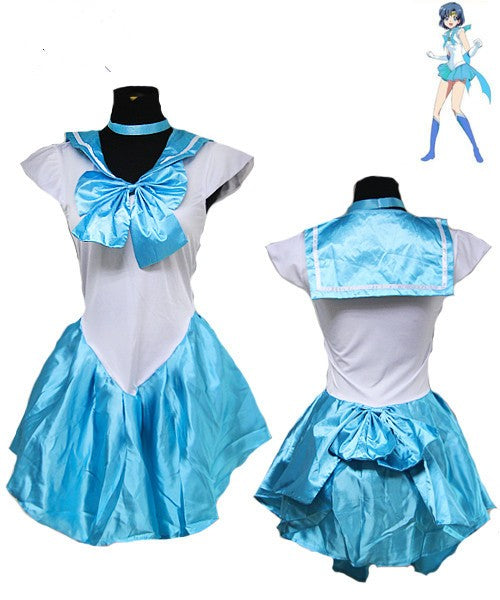 Costbuys  Women's Anime Sexy Sailor Moon Costume Cosplay dress For Girl Halloween Game Stage Bar Costume Cosplay - No 3 / XL
