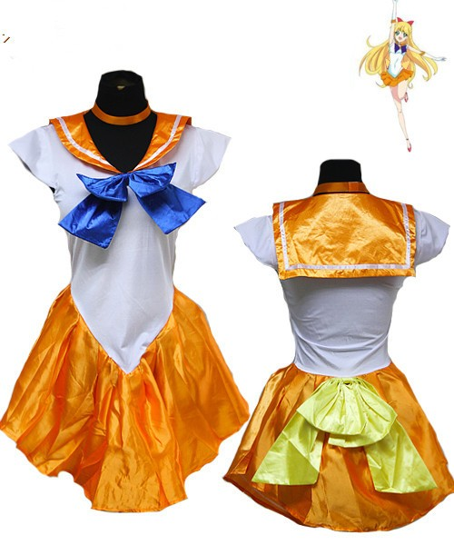 Costbuys  Women's Anime Sexy Sailor Moon Costume Cosplay dress For Girl Halloween Game Stage Bar Costume Cosplay - No 5 / XL
