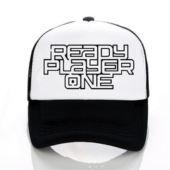 movie Unisex Ready Player One Baseball caps Men Women Summer Mesh Cap Casual letters adjustable trucker hat