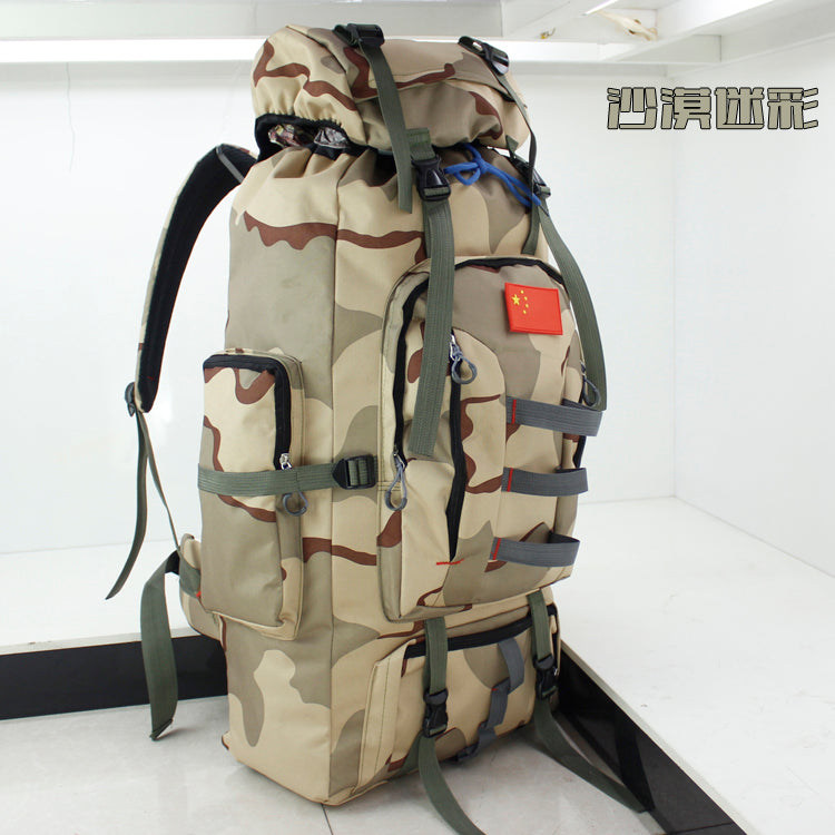 Costbuys  outdoor sports shoulder military camping hiking tactical bag camping hunting backpack utility chest bag - color3 / 50
