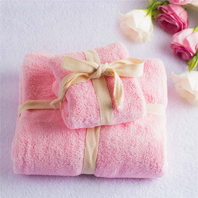 Costbuys  2pc/set Microfibre Towel Super Absorbent Travel Plush Cheap Bath Towel Quick-Dry Beach Towels swimming Spa Towel For A