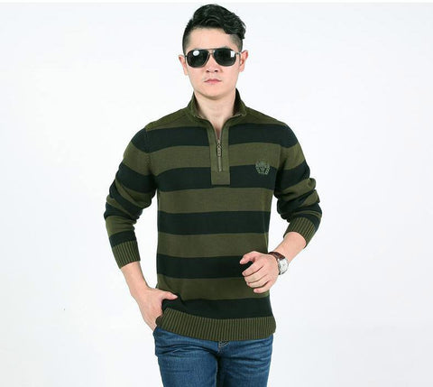 New Arrival Brand-Clothing Spring Pullover Men Fashion Slim Fit Christmas Sweater Men Casual Solid Color Mens Sweaters