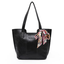 3 Sets/Pcs Tote Bag Feale Casual Daughter package Women PU Leather handbags Tote Bags For Women Top-Handle Bags