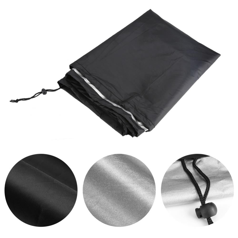 Costbuys  30 Inch BBQ Cover Outdoor Waterproof Barbecue Covers Garden Patio Grill Protector BBQ Supplies - Black / M