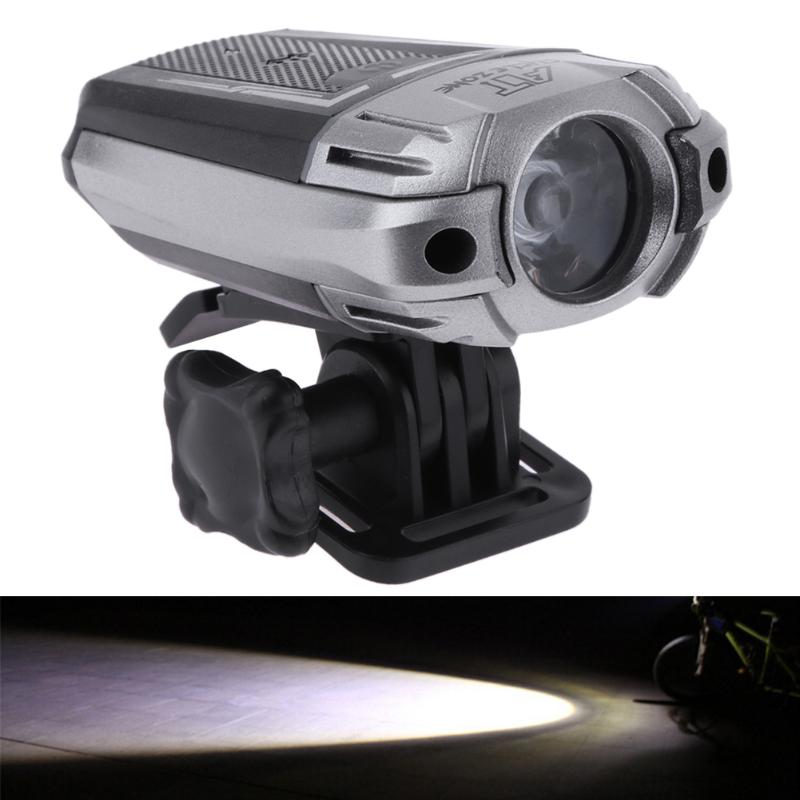 300LM USB Rechargeable Bicycle Light 125 Degree MTB Bike Light Zoom Flashlight Light Waterproof Press Button Bicycle Accessories