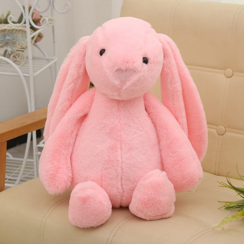 Costbuys  30cm Cute Bunny Plush Rabbit Toy Soft Cloth Stuffed Rabbit Easter Gift Decor Baby Appease Toys For Children Kids Gift