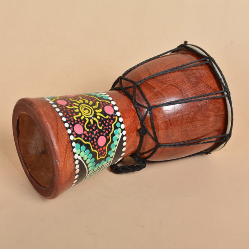 Costbuys  30cm Professional African Djembe Drum Bongo Wooden Good Sound Musical Instrument
