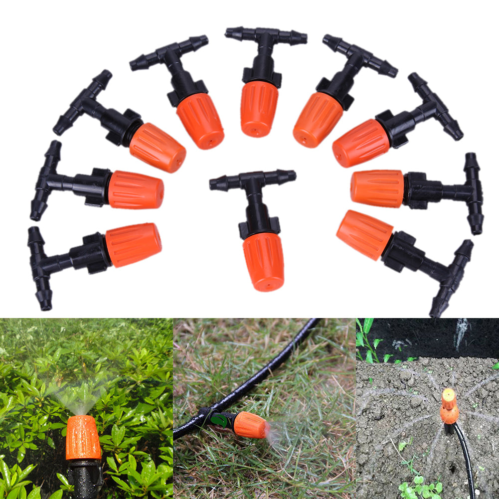 Costbuys  30pcs DIY Micro Drip Irrigation Plant Self Watering Garden Hose Sprinklers Garden Irrigation Kit Set Plants Watering S