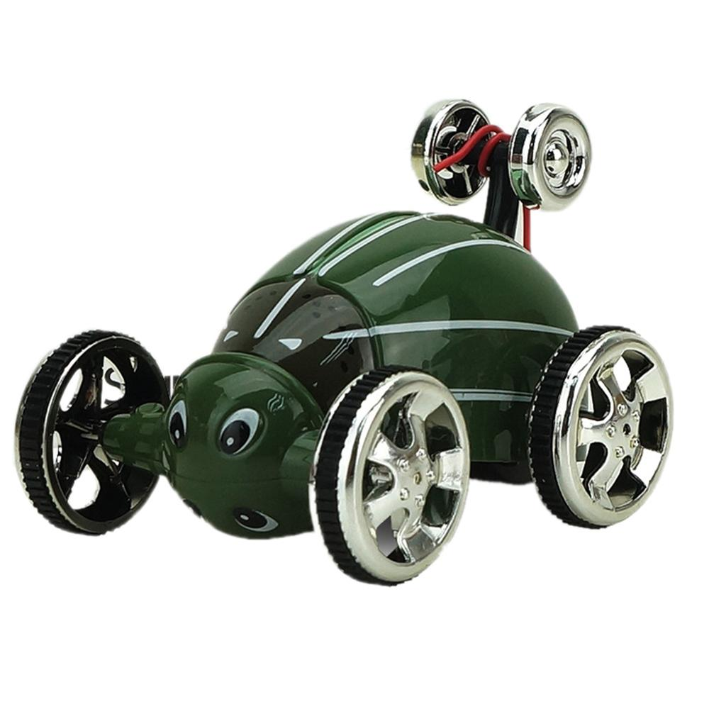 Costbuys  360 Degrees Insect Special Effect Overturned Car Flip Stunt Vehicle Falling Revival Dumptruck Remote Control Toy Child