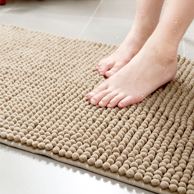 Costbuys  4 color Bath Mat Bathroom Carpet Bathroom Mat For Toilet Bathroom Rug Toilet Mat Tub Rug Anti-slipping Absorbent Soft