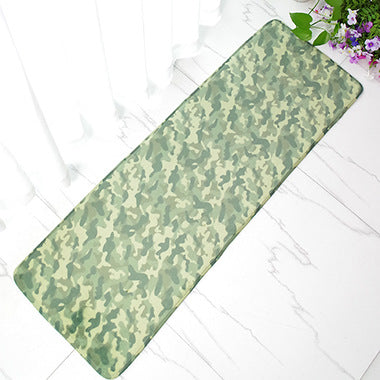 Costbuys  40 X 120cm Carpet Vintage Peacock Doormat Anti-Slip Coral Floor Mat Door Mat Long Carpet Home Textile Rug - green / 40