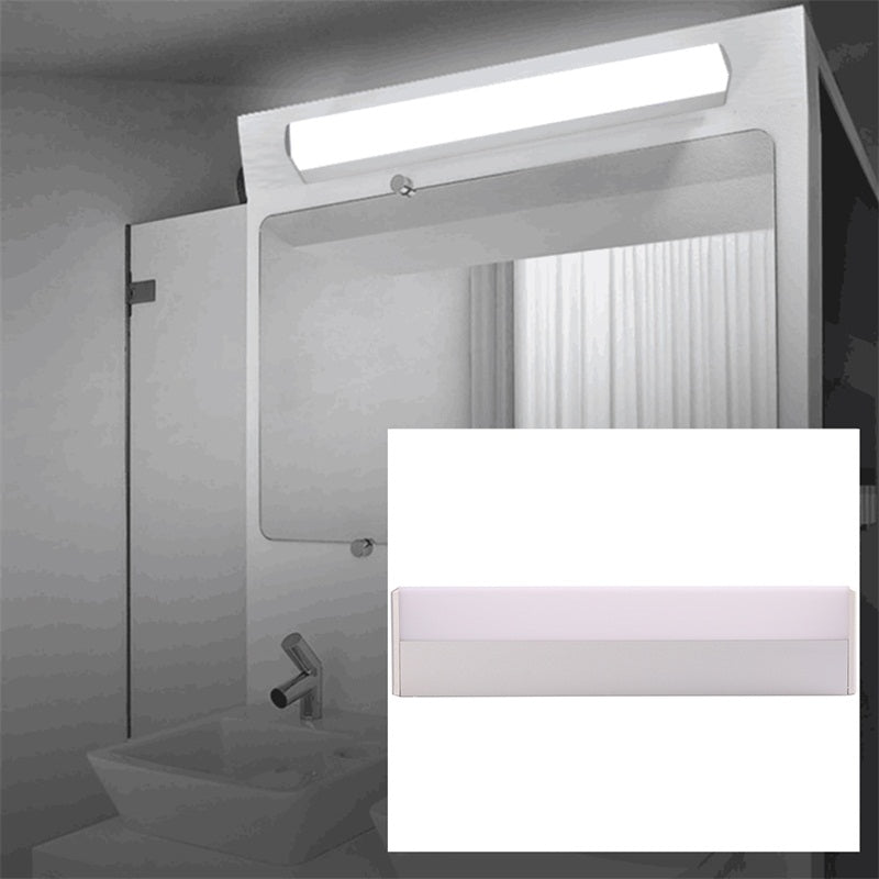 Costbuys  40cm LED Wall Lamps Modern Led Mirror Light Waterproof Fixture Wall Mounted Indoor Corridor Bathroom Lighting 16W AC85
