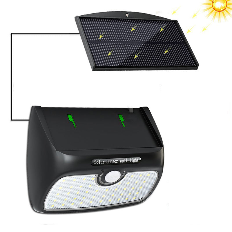 Costbuys  48 LED Solar Lamp Garden Motion Sensor Light Solar Panel Power Lights Outdoor Waterproof Separate Street Path Security