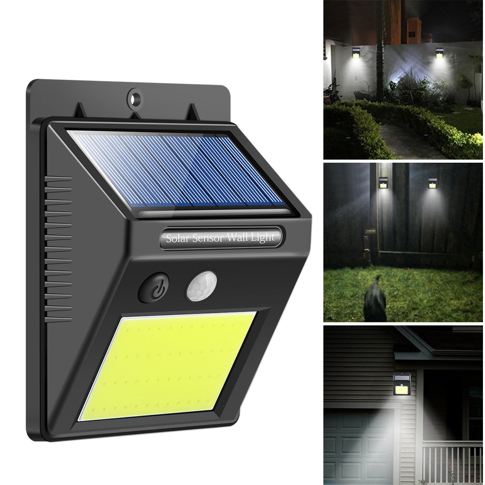 Costbuys  48 LED Solar Light Human Infrared PIR Motion Sensor Wall Lamp Security Outdoor Lighting Waterproof IP65 Garden Lamp fo