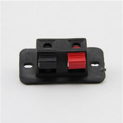 Costbuys  4pcs/lot 2pin or 4pin red&black clip-spring switch DIY Lighting Accessories pressure line connection clamps for test c