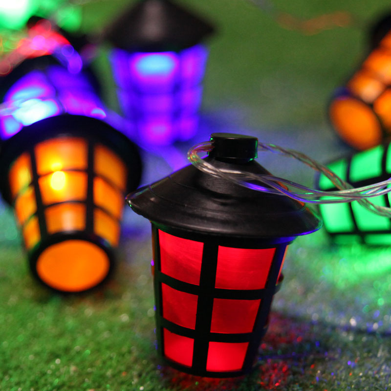 Costbuys  5 meters Holiday lights Wedding Party Supplies Outdoor Garden Christmas Tree Waterproof Led String Lights 20 lanterns