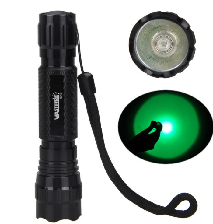 Costbuys  5000 LM Bike Light Q5/T6 Front Bike Headlight 2 in 1 Tactical Flashlight Torch with Bike Mount for Cycling - Green Lig