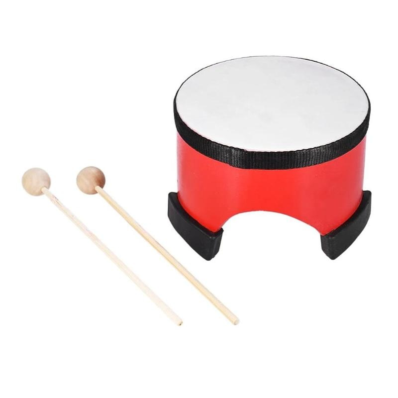 Costbuys  6 Inch Professional Wooden Percussion Hand Game Drum Musical Game Instrument Baby Children Learning Toys