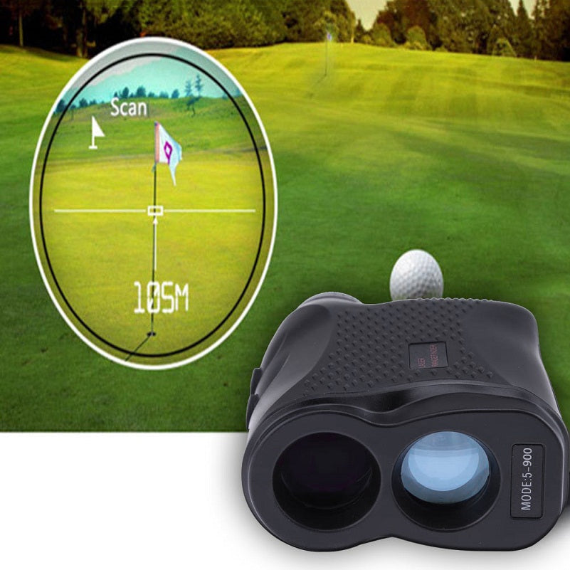 Costbuys  600M/900M Hunting Golf Outdoor Laser Distance Measuring Monocular Telescope Laser Range Finder Distance Height Speed M