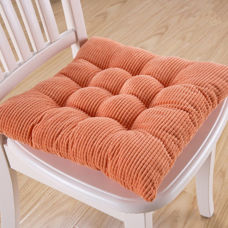 Costbuys  8 Colors 40*40cm Chair Cushion Back Cushion Home Decoration Throw Pillow Comfortable Sofa Hotel Car Seat Pad Buttocks