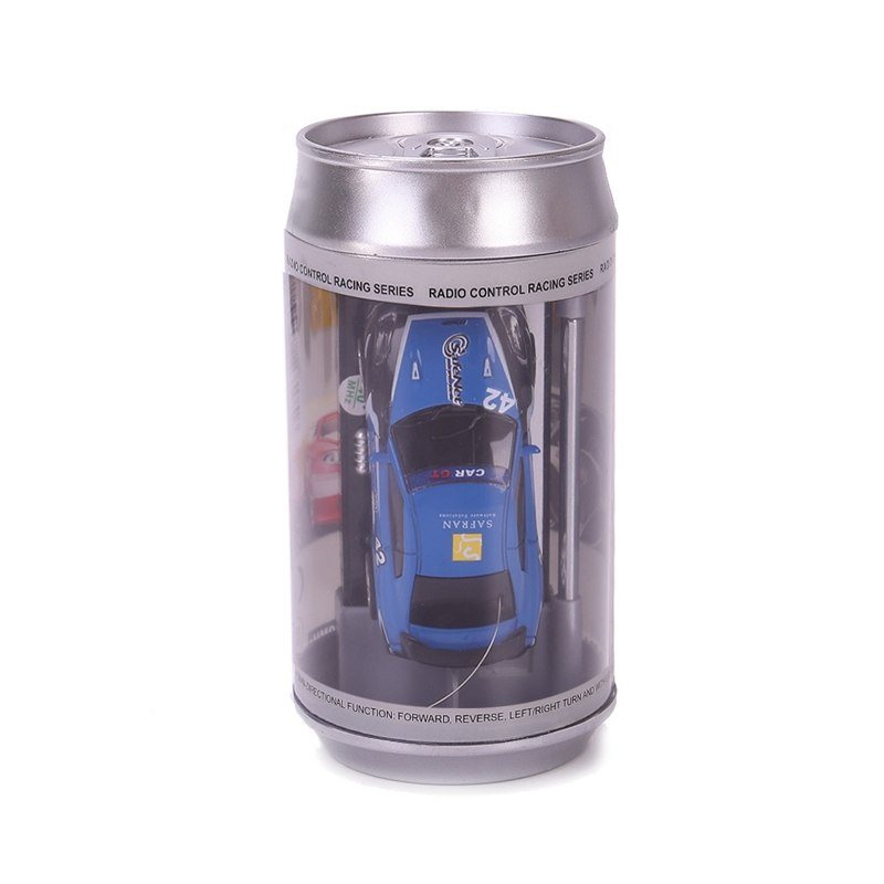 Costbuys  8 Colors Hot Sales 20KM/H Coke Can Mini RC Car Radio Remote Control Micro Racing Car 4 Frequencies Toy For Children -