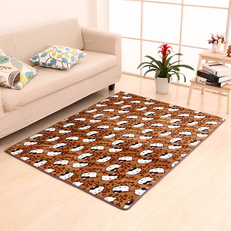 Costbuys  9 Sizes Modern Rugs and Carpets for Home Living Room Coral Fleece Water Slip Floor Mat Kitchen Bedroom Rug - G / 40x60