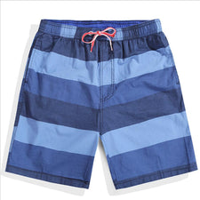 9 color striped Board shorts men swimwear beach surf bermudas swimming trunks bathing suits running quick dry swimsuits man