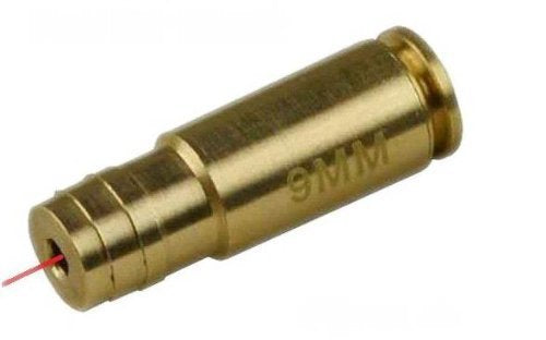 Costbuys  9MM cartridge red Laser Bore Sighter for hunting gun test normalizing device
