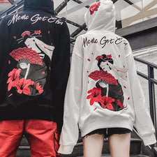 Hoodies Men  Street wear Fashion Casual Sweatshirts 3d Flower Print Pullovers Hoodie Casual Outwear