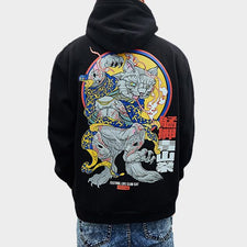 3d Animal Cartoon Printed Pullover Hoodies Sweatshirts Autumn Winter Cotton Fleece Street wear