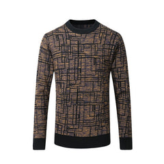 2017 Winter top quality wool pull round collar style thick casual pullover homme men sweater M~3XL