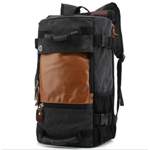 25L Simple classic fashion Urban style Volume mouth Waterproof rolly backpack/travel bag/TPU bag Riding package