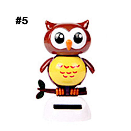 Costbuys  Adorable Cute New Hot Solar Powered Dancing Animal Swinging Animated Bobble Dancer Toy Car Decoration Gift - 5
