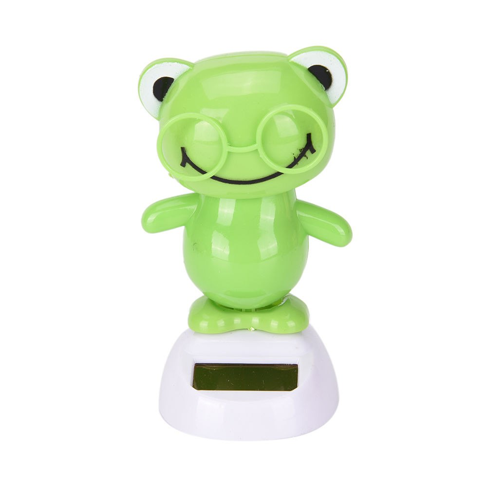 Costbuys  Adorable Cute New Hot Solar Powered Dancing Animal Swinging Animated Bobble Dancer Toy Car Decoration Gift - 7