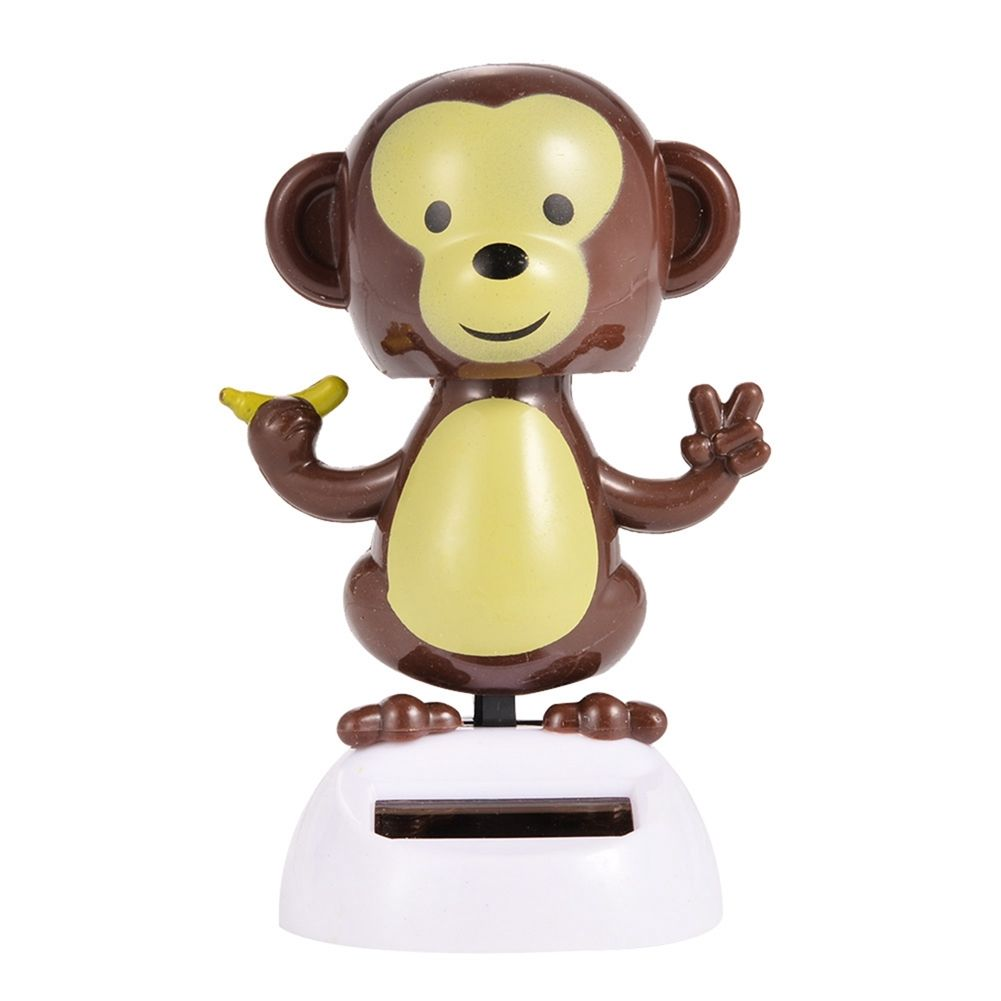 Costbuys  Adorable Cute New Hot Solar Powered Dancing Animal Swinging Animated Bobble Dancer Toy Car Decoration Gift - 2