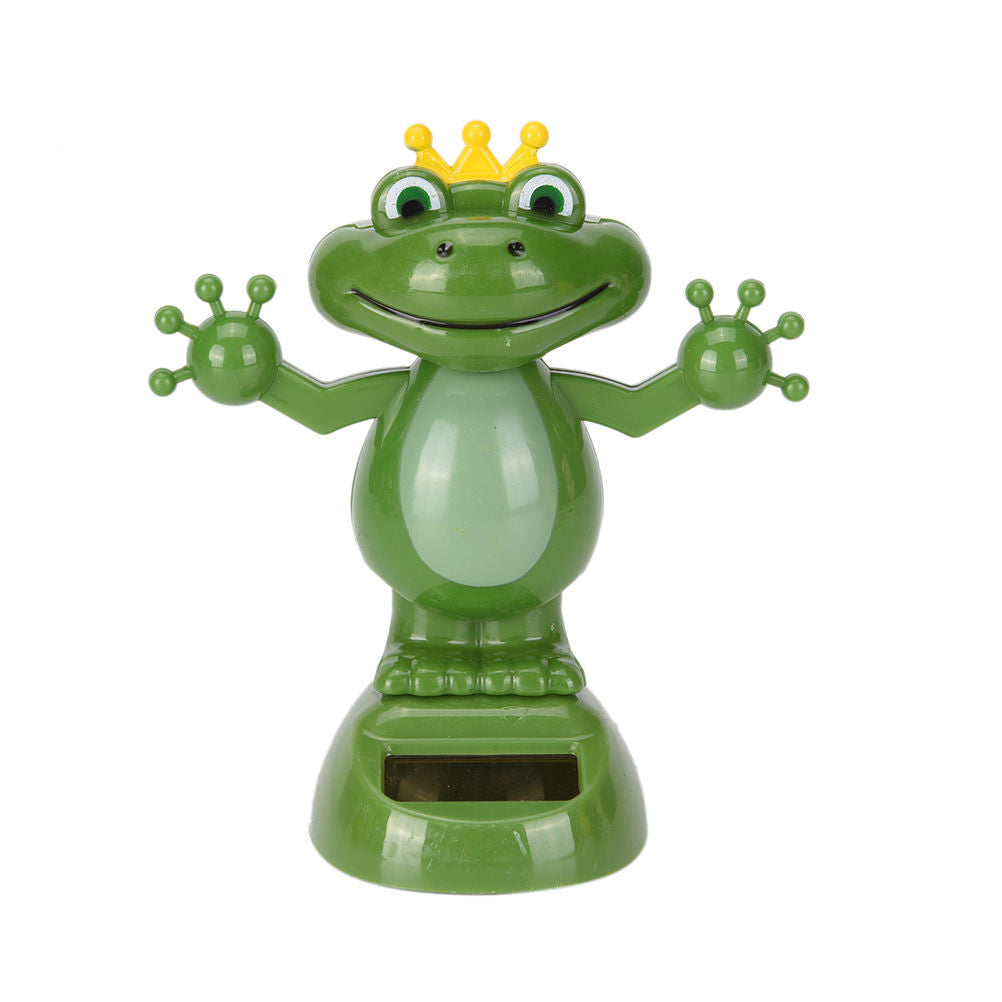 Costbuys  Adorable Cute New Hot Solar Powered Dancing Animal Swinging Animated Bobble Dancer Toy Car Decoration Gift - 3