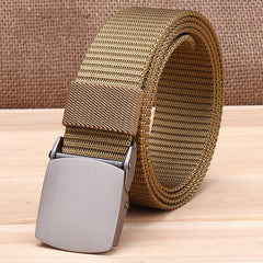 Automatic Buckle Nylon Belt Male Army Tactical Belt Mens Military Waist Nylon Belts Cummerbunds High Quality Strap