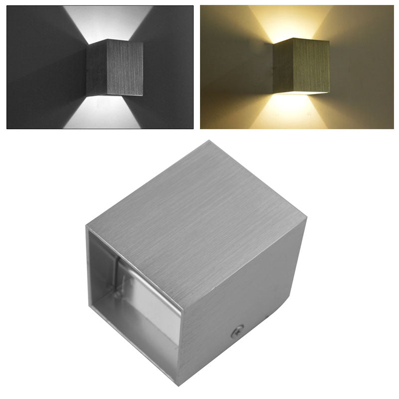 Costbuys  LED Sconce Wall Light for Bedroom Home Decor Modern Indoor Aluminium Wall Lamp LED Hallway Porch Light Warm/Cold White
