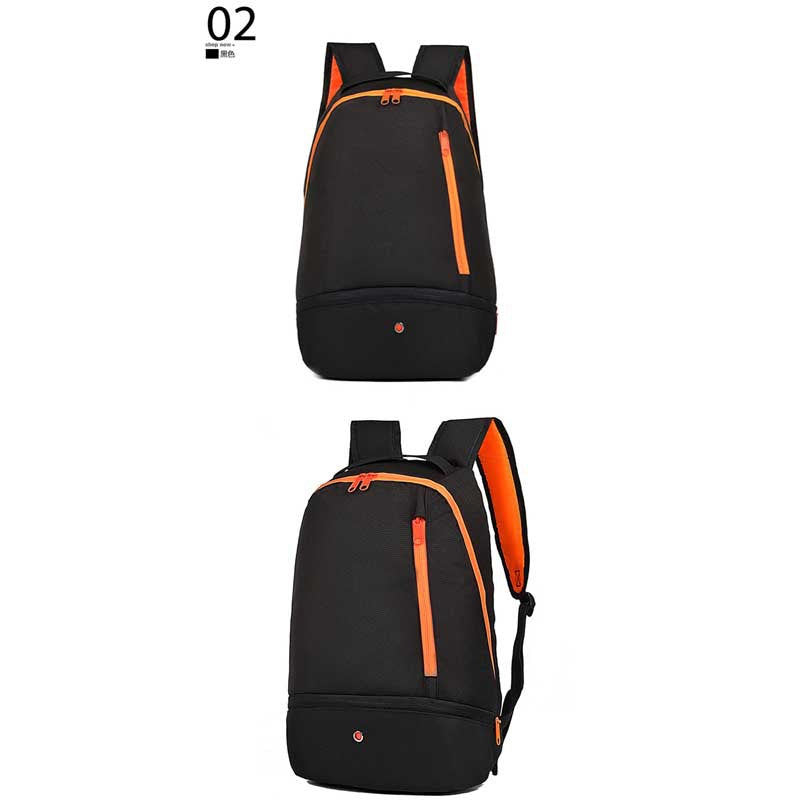 Costbuys  Backpack Male Schoolbag Male Student Shoulder Bag Outdoor Multi-functional Sports Bag Outdoor Backpack - black