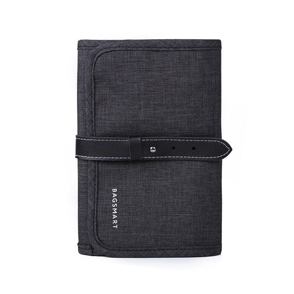 Costbuys  Travel Gadgets Organizer Bag, Electronics Accessories Carrying Case Pouch for Charger USB Cables SD  Earphone - black