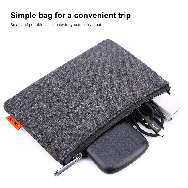 Costbuys  Portable Mobile Phone Pouch Bag for iPhone Samsung Xiaomi Huawei Bag Case for Cell Phone Accessories Storage Handbag B