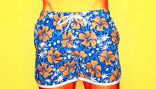 Beach Shorts Mens Boardshorts Men Board Short Quick Dry Bermuda Print Flowers Acetate Men Board Shorts sea breeze Seaside