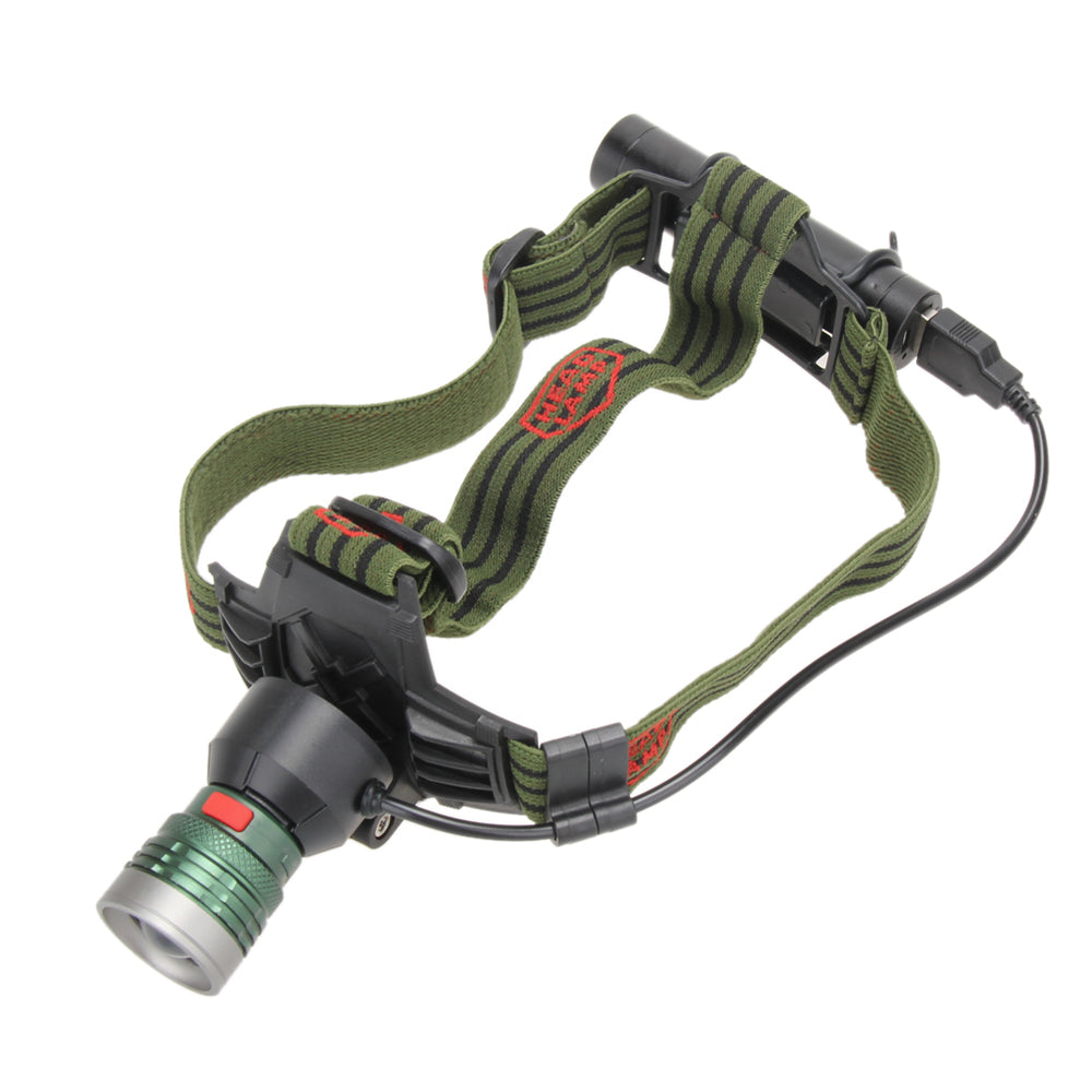 Bike Bicycle Light Head front Lights 5000LM XM-L T6 Rechargeable LED Headlight 3Mode Headlamp Flashlight 18650 USB Headlamp