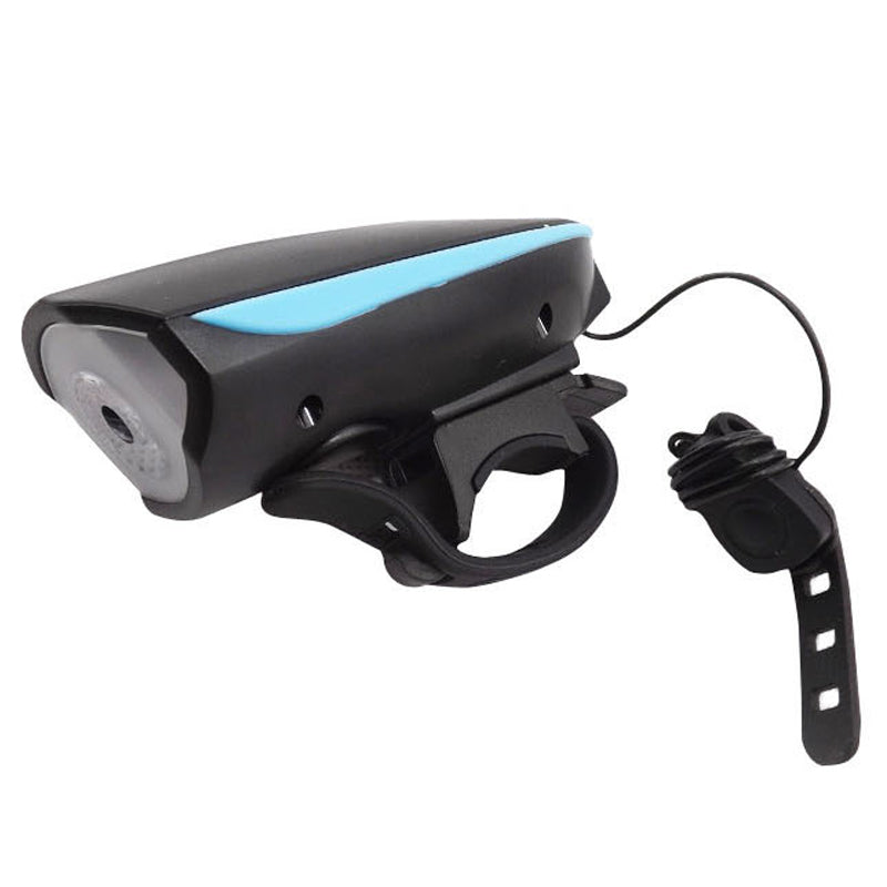 Costbuys  Bike Light Head LED Flashlight With Bell Luces Bicicleta Multifunction Lamp MTB Road Cycling Headlight Bicycle Accesso