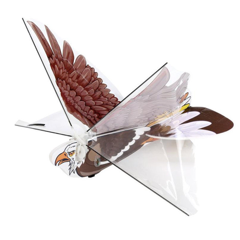 Costbuys  Bird Drone 2.4GH Remote Control Electronic Bird Mini RC Drone Toy radio-controlled toys rc toys for children - Brown