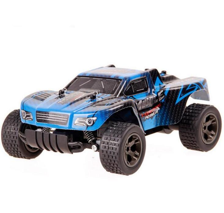 Costbuys  Boy remote control toy charge off-road toy car 1:20 high-speed competitive remote control car child electric toy - Blu