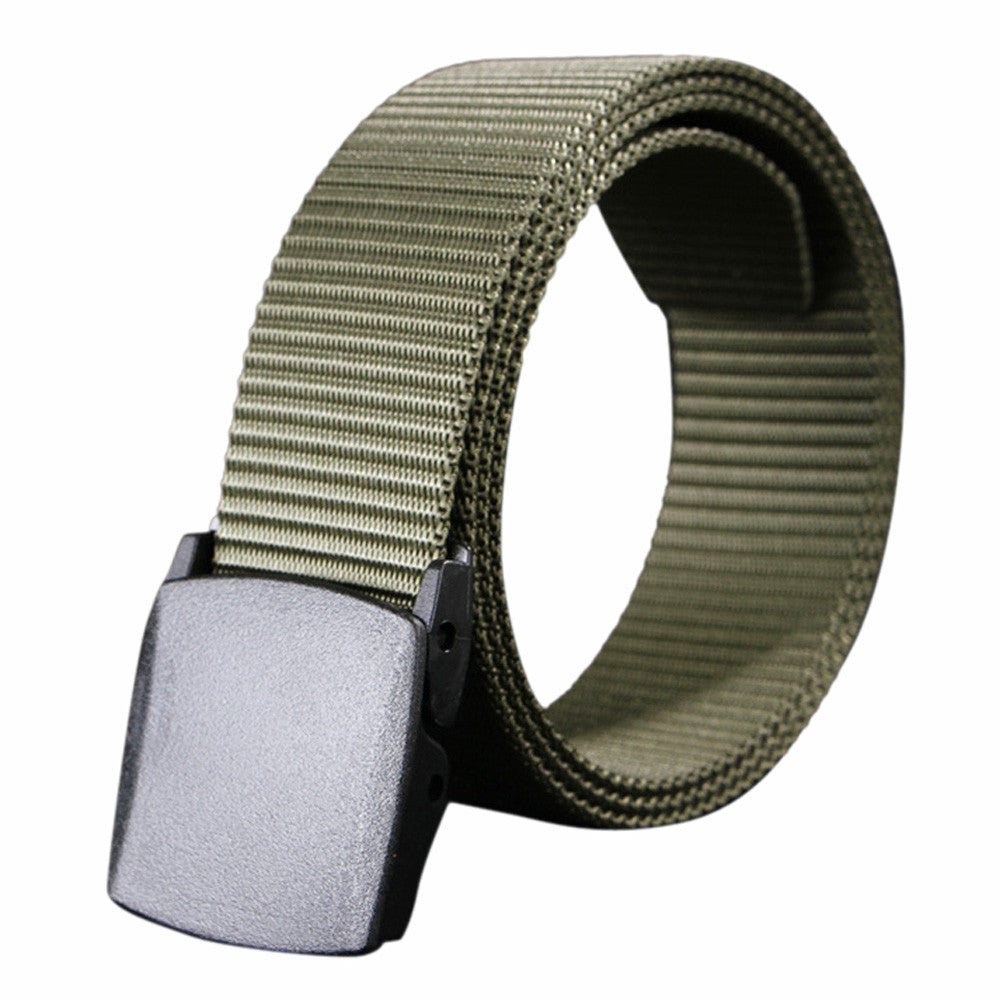 Canvas Belt Automatic Buckle Canvas Belts For Men Male Waist Strap